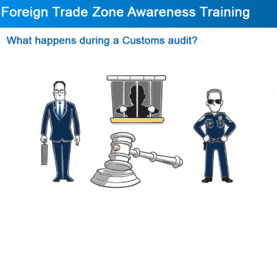 Foreign trade compliance training - e-learning