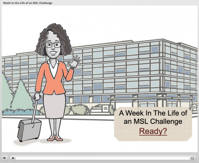 Job specific e-learning course to help medical science liaisons