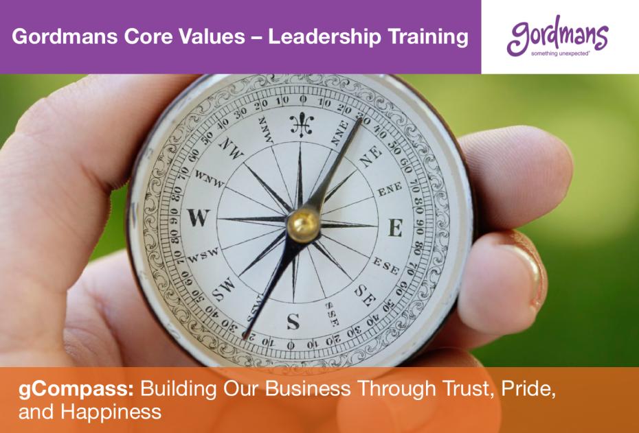Gordmans Core Values