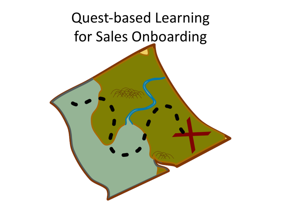 Quest-Based Learning for Sales Onboarding